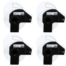 4 Roll 200 Shipping Labels Dk 1241 4 X 6 For Brother Ql 1050n Ql 1110nwb