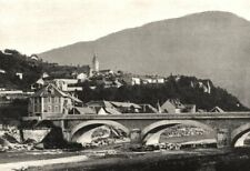 SAVOIE. Albertville, vue de Conflans (422 mètres d'altitude)  1903 old print