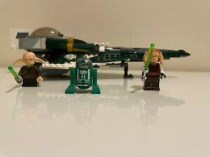 LEGO Star Wars 9498 Saesee Tiin's Starfighter 100% complete