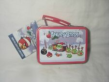 ANGRY BIRDS ROVIO MINI TIN LUNCH BOX ORNAMENT NEW WITH TAG