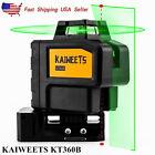 360° Green Laser Light Line Level Rotary Laser Self leveling KAIWEETS KT360B