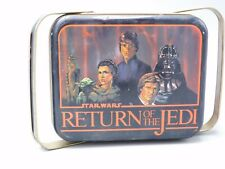 1983 VINTAGE J CHEIN UNUSED STAR WARS RETURN OF THE JEDI LUNCHBOX CARRY ALL TIN