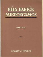 "Bartok "" Mikrokosmos VOL I "" ~ für Klavier"