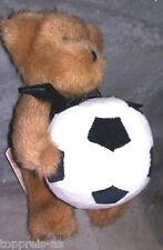 BOYDS TEDDY BEAR BÄR SAMMELBÄR B B Soccer #903051 FUßBALL EM FUßBALLER 21cm NEU