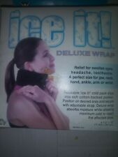 """Cold Therapy """"Ice it"""" DELUXE WRAP Pack Model 510 Size 4.5"""" x 10"""""""