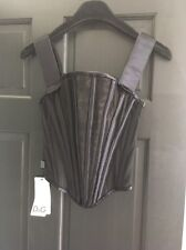 Dolce Gabbana corset black Velvet Details Size XS Size 2
