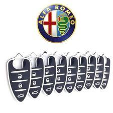 Gommino 3 Tasti Ricambio Telecomando Guscio Chiave Alfa Romeo Mito Giulietta