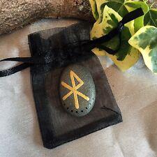 LOVE Bind Rune Charm Witch Sea Stone Amulet Wicca Pagan Spell Sex Talisman Magic
