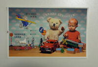 2015 SWEDEN EUROPA OLD TOYS MINI SHEET MINT STAMPS