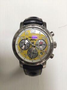 Chopard Mille milliamperes Titanium yellow chronograph men's watch 16/8915