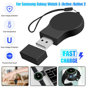 Wireless USB Charger Portable Charging Keychain For Samsung Galaxy Watch3 Active