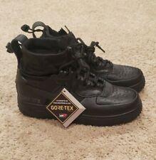 Nike Air Force 1 WTR GTX Winter Gore-Tex Triple Black CQ7211-003 Men's Size 7
