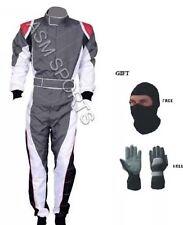 Go Kart Race Suit White New Design