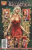 Battlestar Galactic Comic Issue 4 The Final Five 2009 Modern Age First Print