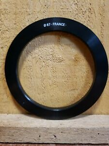 Genuine Cokin P Series 67 mm Adapter Ring P467 Made in France Thread to P Series
