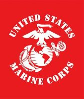 Car Truck Window Decal Sticker For USMC Marine Corps Military Eagle Anchor Globe