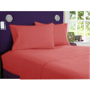 NEW 900 TC EGYPTIAN COTTON COMPLETE BEDDING COLLECTION IN ALL SETS & RED COLOR