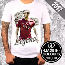 T-SHIRT FRANCESCO TOTTI LEGEND UNICO 2017 - LIMITED EDITION -Made in Colours