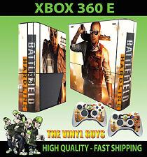 Xbox 360 E Battlefield hartlinie Skin & 2 x Controller Polster Hülle