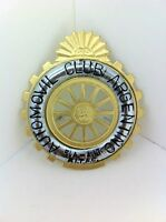 Argentina Argentine Automobile Club Grille Badge 25 Year Anniversary NEW #119A
