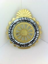 Argentine Automobile Club Grille Badge 25 Year Anniversary - NEW - (#119A)