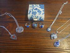 8 Piece Vampire Diaries Jewelry Box Set Daylight Ring Elena Gilbert Stefan Damon