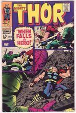 THOR#149 VG/FN 1968 MARVEL SILVER AGE COMICS