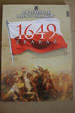 Winning the battles in the history of Poland Tom 11 Zbaraż - 1649 - Polish Book