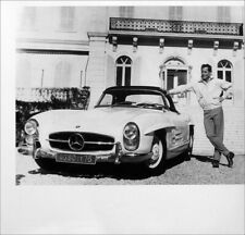 GLENN FORD POSTER PAGE . 1962 MERCEDES-BENZ 300SL ROADSTER CAR . SC53