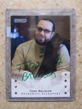 2010 Razor Poker Auto Rare Green Ink Varia TODD BRUNSON