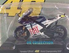 Moto Valentino Rossi scala 1:18_ YAMAHA YZR-M1 World Championship 2007 _(18)