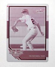 2017 USA Baseball Stars and Stripes Printing Plates Magenta #65 Landon Sims 1/1