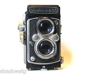 SALE SALE LEGENDARY YASHICA 635 +LEATHER CASE MOST SOUGHT AFTER JAPANESE TLR *