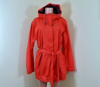 Columbia Pardon My Trench Omni-Shield Hooded Rain Jacket Size 2X Red Coral NWOT