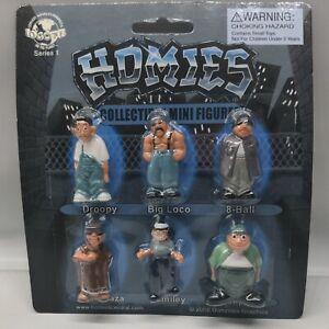 Homies Series 1 Vintage Mini Figures MOC New Sealed