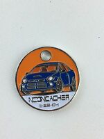 Pathtag Geocoin Geocache Tag #17078 - NEONCACHER Signature Tag - RETIRED