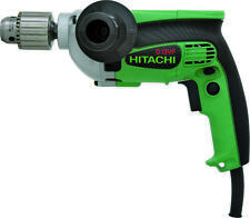 HITACHI D13VF Electric Drill, 120 V, 710 W, 1/2 in Chuck, Aluminum