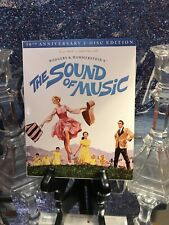 Sound Of Music Blu-ray 50th Ann. 2-Disc Edition With HD CODE Booklet & Slipcover