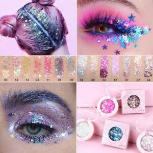 Eye Glitter Eyeshadow Face Jewels Pigment Body Eye Glitter Sequin