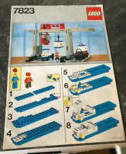 Lego  Anleitung 7823, ungelocht (only instruction, no bricks)