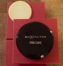 *SALE*  TAN #1 - MaxFactor PanCake Foundation - W/Box &Sponge - Shipped from USA