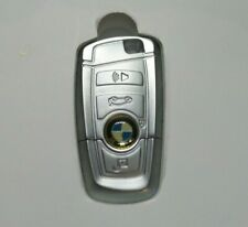 AUTHENTIC NEW BMW CHROME KEY FOB 2GB USB THUMB DRIVE/FLASH MEMORY WITH GIFT BOX
