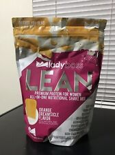 Lady Boss Lean Orange Dreamsicle Premium Protein Shake Mix 1.87 Lb Bag