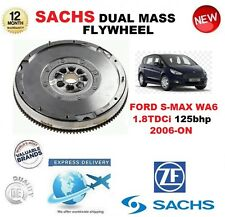 FOR FORD S MAX WA6 1.8 TDCi 125bhp 2006-ON SACHS DMF DUAL MASS FLYWHEEL & BOLTS