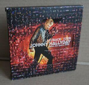 JOHNNY HALLYDAY  Flashback tour - Edition collector numéroté