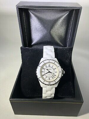 Preowned Chanel J12 Chronograph H0970 Automatic 38mm No Box/paper Mint $6200