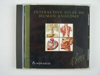 Interactive Atlas of Human Anatomy Frank H Netter M.D. PC CD Software