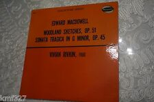 2316 EDWARD MACDOWELL: Woodland Sketches/Sonata Tragica-W9310LP Vivian Rivkin NM