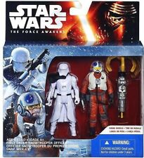 STAR WARS EPISODE 7: FIRST ORDER SNOWTROOPER OFFICER & SNAP WEXLEY