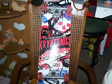 """Awesome 31""""Kryptonic Skateboard With Kryptonic Tracks And Wheels For Christmas"""